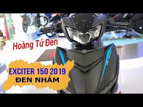 """Yamaha Exciter 150 2019 Đen Nhám """"Hoàng Tử Đen"""" xuất hiện ▶ Đánh giá chi tiết! - Thời lượng: 15 phút."""