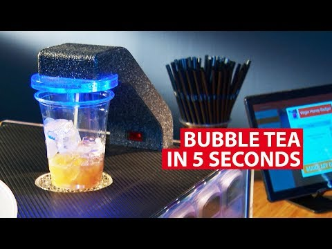 Bubble Tea In 5 Seconds | Made In Singapore | CNA Insider