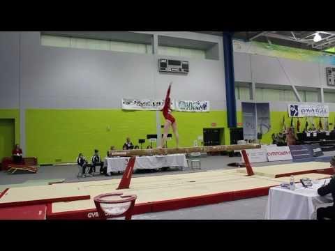 Madeline Gardiner - Beam Final Gold - Elite Canada 2010