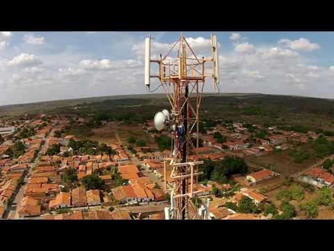 Instalação do Sistema 3G da Claro em Inhuma   PI