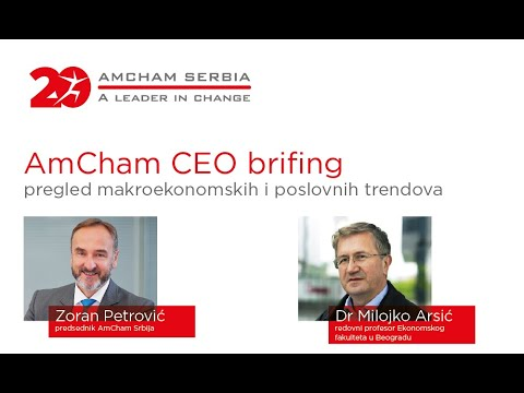 AmCham CEO briefing: Macroeconomic and business trends