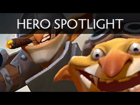 hero - Techies from Dota 2. A short introduction to the hero voiced by SUNSfan. Our Pudge set in stores now: http://www.dota2.com/store/itemdetails/20439 Our Invoker set in stores now: http://www.dota2.c...
