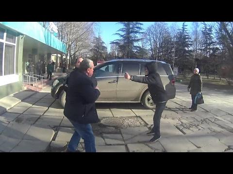 СтопХам Крым - Аксёнов сказал здесь ставить машины!