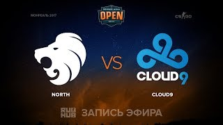 North vs C9, game 1