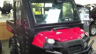 9. 2009 Polaris Ranger 700 xp with full cab