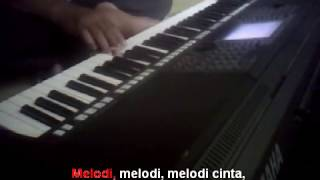 Melodi Cinta Rhoma Irama Karaoke Yamaha PSR S750
