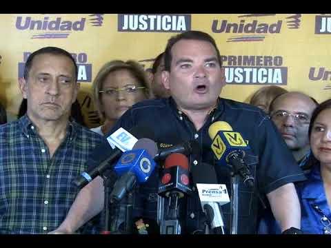 Tomás Guanipa: Primero Justicia no se rinde ni se doblega