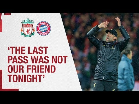 Klopp's Bayern Munich Reaction | 'The Last Pass Was Not Our Friend'