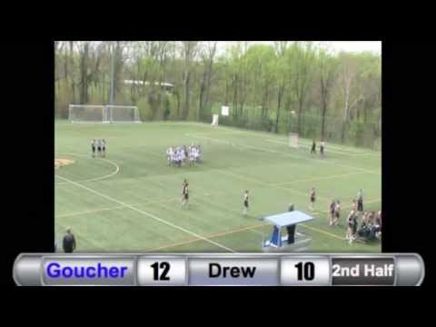 WLAX: Goucher Defeats Drew to Clinch First Playoff Berth Since 2011