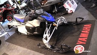 6. 2017 Yamaha Phazer X-TX Sled - Walkaround - 2016 Toronto ATV Show