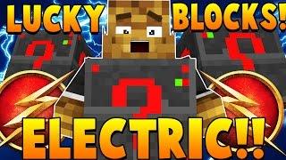 LIGHTNING ELECTRIC LUCKY BLOCK CHALLENGE Stadium | Minecraft - Lucky Block Mod