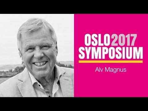 Alv Magnus´ tale på Oslo Symposium 2017 fredag kveld
