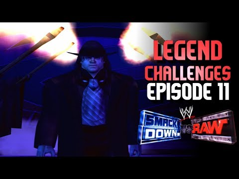 WWE Smackdown vs RAW: LEGEND Challenges - Episode 11 (The HARDEST Matches YET!!)