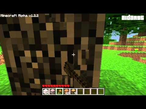 Давайте Играть в Minecraft Alpha - Часть 1 - Горная Корова