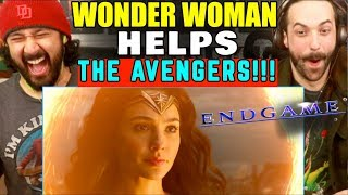 WONDER WOMAN Helps The AVENGERS (Fan-Made)   REACTION!!! by The Reel Rejects