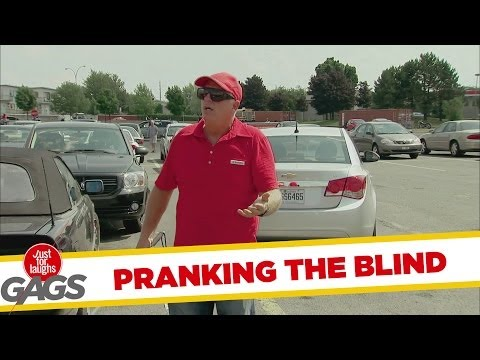 Misleading the Blind Prank - Youtube