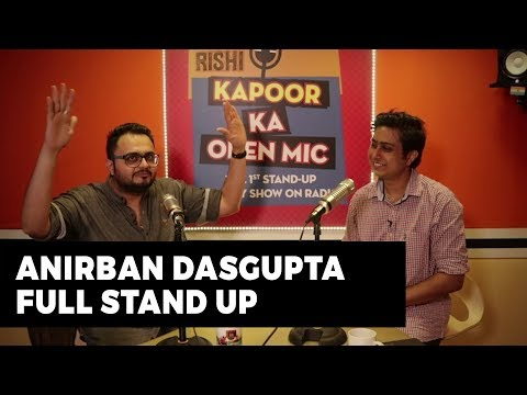 Anirban Dasgupta | Full Stand Up | Rishi Kapoor Ka Open Mic