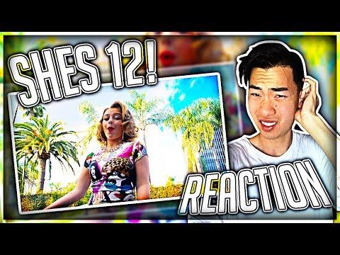 Reacting to Danielle Cohn - Marilyn Monroe (SHE'S 12 YEARS OLD) (видео)