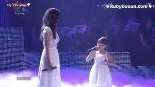 MẸ YÊU CON - Bé Bảo An&Ái Phương (Liveshow Bài Hát Việt Tháng 9/2014)