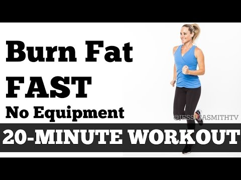 Burn Fat Fast: 20-Minute Full Body Workout At Home to Lose ...