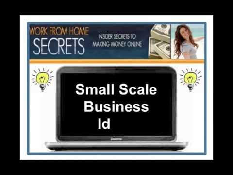 Small Scale Business Ideas – Great Business Startup Ideas