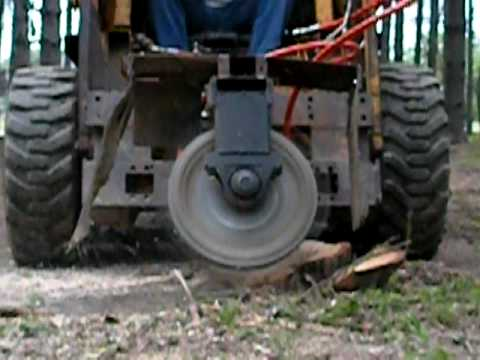 Home Made Stump Grinder