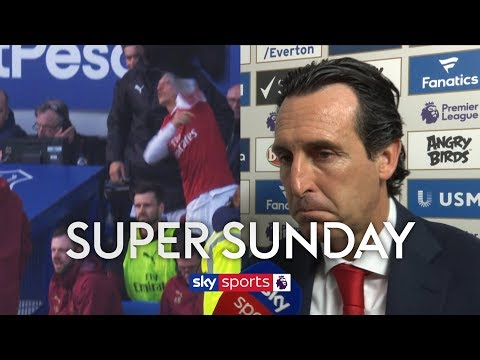 Did Mesut Ozil Throw His Coat At Unai Emery In Frustration?! | Super Sunday