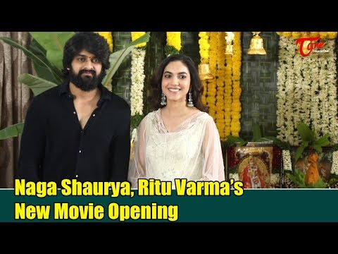 Naga Shaurya's New Movie Opening Video | Ritu Varma | TeluguOne Cinema