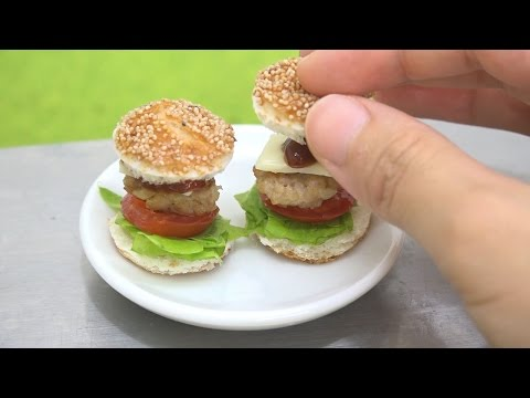 How to Make Miniature Edible Cheeseburgers
