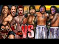 WWE 2K15: Shawn Michaels, The Rock, Sheamus VS The Big Show & The Usos [FR//HD]