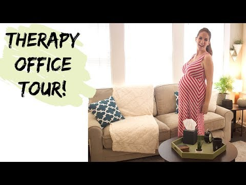 Therapist Office Tour | Private Practice Therapy Office
