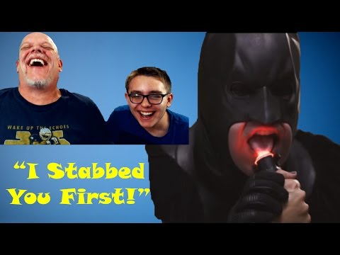 "Reaction Time | ""batman Can't Stop Thinking About Sex"" - I Stabbed You First"