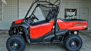 9. 2016 Honda Pioneer 1000 EPS - Start Up & Walk Around | Side by Side ATV / UTV / SxS  (SXS10M3PG)