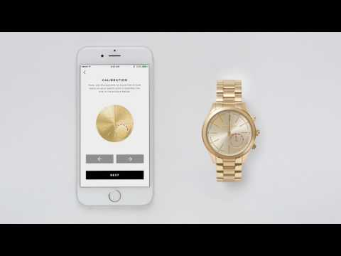 Michael Kors Access Hybrid Smartwatch / Using Your Hybrid Smartwatch