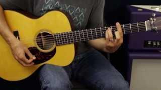 How To  Play - Thomas Rhett - It Goes Like This - Guitar Lesson - Rhythm And Solo