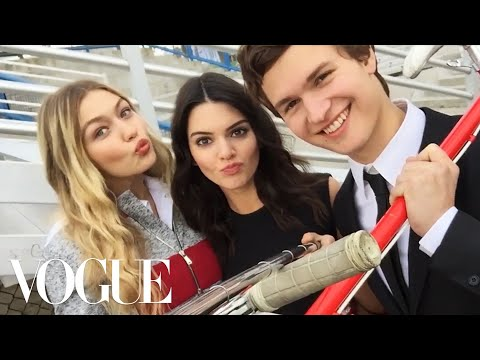 Watch What Happens When We Give Kendall Jenner and Gigi Hadid a Selfie Stick – Vogue