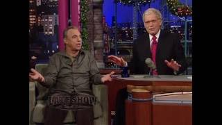 Jay Thomas on the Late Show with David Letterman #23 - December 23, 2010
