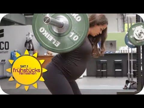 Pumpen mit Babybauch! Ist Krafttraining für Schwanger ...