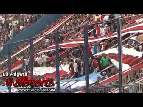 """Video - """"Y vamo vamo vamo millonario"""" Hinchada River Plate - Los Borrachos del Tablón - River Plate - Argentina"""