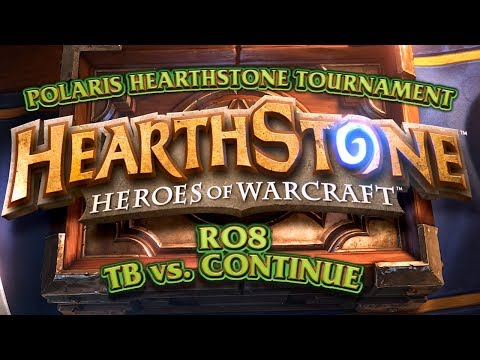 Totalbiscuit - TotalBiscuit takes on Continue in the RO8 of the Polaris Hearthstone Tournament. Check out Continue Show: http://www.youtube.com/user/ContinueShow Note: This...