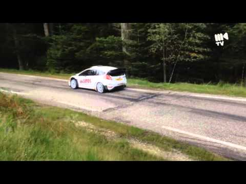 Robert Kubica - tests before Rally France 2014