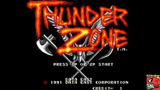 Thunder Zone (Arcade Emulated / M.A.M.E.) by ILLSeaBass