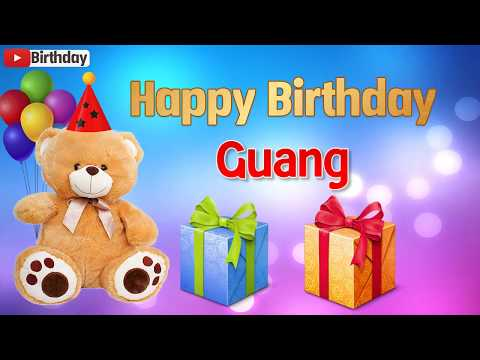 Happy birthday messages - Happy birthday Guang