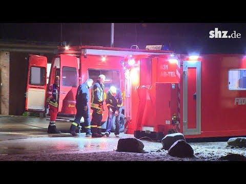 Bombensprengung in Kiel: