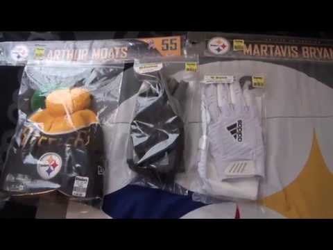 STEELERS GAME DAY PICKUPS - GAME USED ADDITIONS