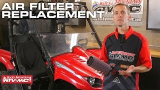 4. Yamaha Rhino Air Filter Maintenance | How To