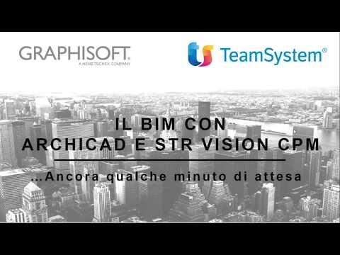 il BIM con ARCHICAD ed STR VISION CPM