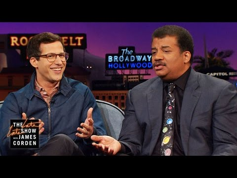 Neil deGrasse Tyson Answers Andy Samberg s Science