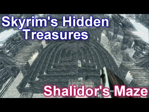 skyrim - Welcome to another highly requested Skyrim's Hidden Treasures. In today's video we explore Shalidor's Maze which is located near Labyrinthian. Follow me on T...