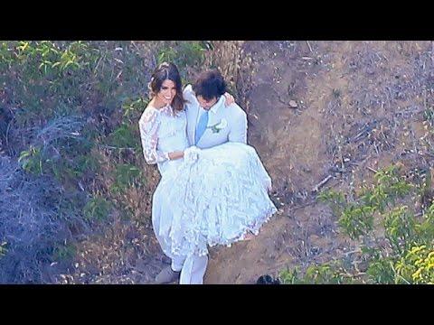 esclusivo: il primo video del matrimonio di ian somerhalder e nikki reed